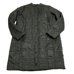 The North Face Alphabet City Quilted Parka Coat L